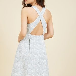 ModCloth Dresses - Modcloth Posh Presence A-Line Cocktail Dress